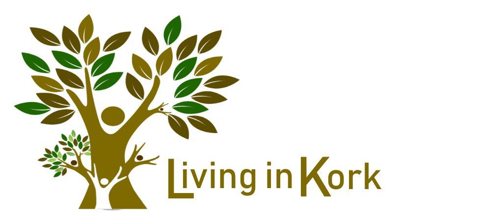 Living in Kork | Vegane Taschen | Accessoires | Schmuck | Yogamatten aus Kork-Logo