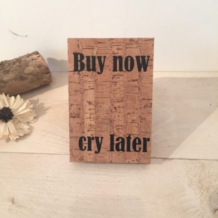 Korkbild Buy now Holz